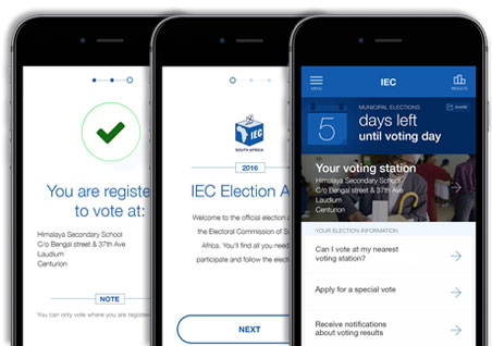 Electoral Commission : Mobile apps